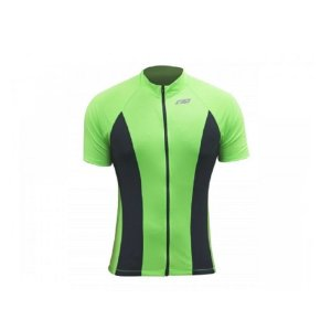 Blusa de Ciclismo Undefeated Masculina Sol Sports - Verde flúor
