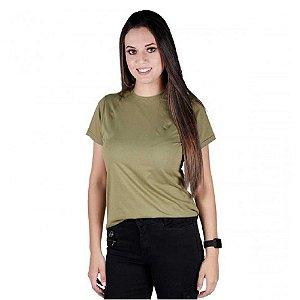 Camiseta Feminina Soldier Bélica - Verde