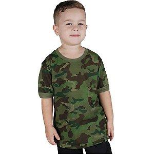 Camiseta Soldier Kids Bélica Camuflado Tropic