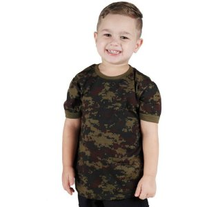 Camiseta Soldier Kids Bélica Digital Argila