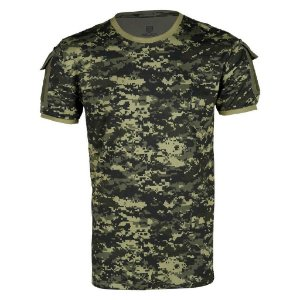 Camiseta Tática Masculina Ranger Bélica Digital Pântano