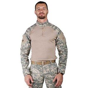 Combat Shirt Bélica Camuflado Digital Areia