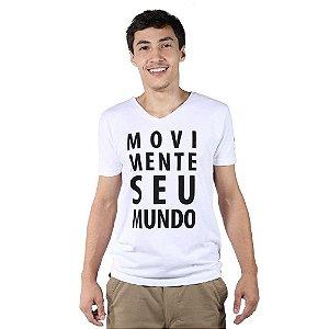 Kit 3 Camisetas Movimente Seu Mundo - Sortidas