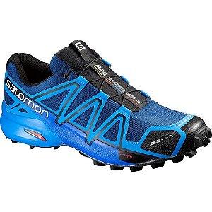 Tênis Speedcross 4 Masculino Salomon - Azul e Preto