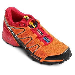 Tênis Speedcross Vario Salomon - Laranja