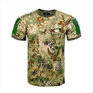 T-shirt Army Camuflado Invictus - Kryptek Mandrake