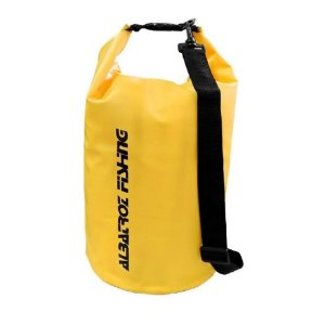 Bolsa Campbag Impermeável Albatroz Fishing 15L - Amarelo
