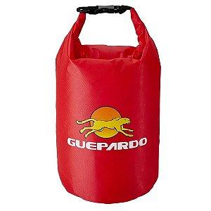 Saco Estanque Impermeável 05L Keep Dry Guepardo  - Vermelho