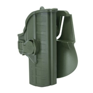 Coldre Striker I Em Polímero Paddle Bélica Canhoto - Verde