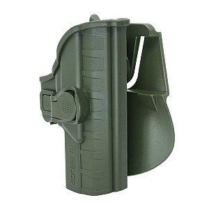 Coldre Striker I Em Polímero Paddle Bélica Destro - Verde