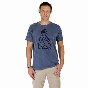 Camiseta Dakar Beduíno Frontal - Azul