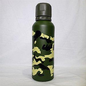 Garrafa Térmica FWB - Camuflado Verde Escuro