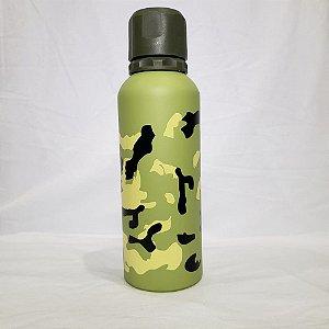Garrafa Térmica FWB - Camuflado Verde