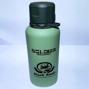 Garrafa Térmica Inox Soldier FWB - Verde