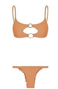 Bikini Braba Ouro Rosa
