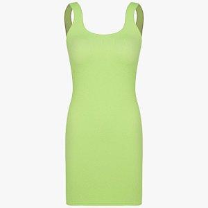 Vestido Genius - Verde soft