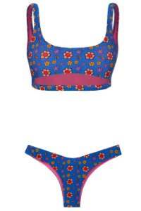 Bikini Boa Menina Flower Power
