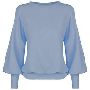 Blusa Moletom Off Azul