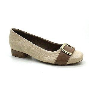 Sapato Salto Baixo Usaflex