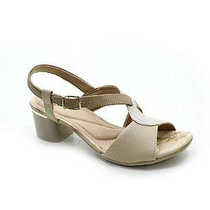 Sandália Salto Médio Comfortflex 2052404