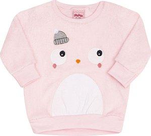 Conjunto Pinguim Rosa - Serelepe Kids
