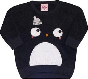 Conjunto Pinguim Preto - Serelepe Kids