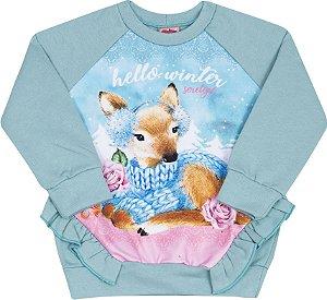 Conjunto Winter Azul - Serelepe Kids