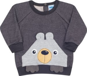 Conjunto Urso Mescla - Serelepe Kids