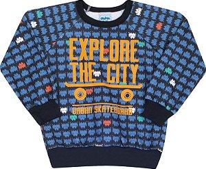Conjunto Explore The City Preto - Serelepe Kids