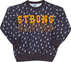 Blusão Avulso Strong Chumbo - Serelepe Kids