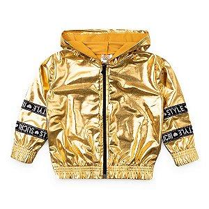 Jaqueta Galactíca Dourada - SucriStyle
