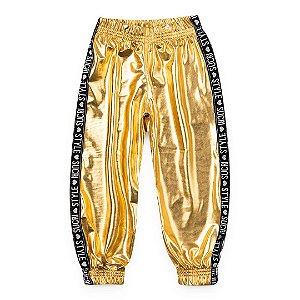 Calça Galactíca Dourada - SucriStyle
