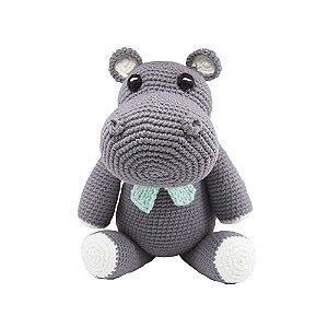 Amigurumi Hipopótamo menino