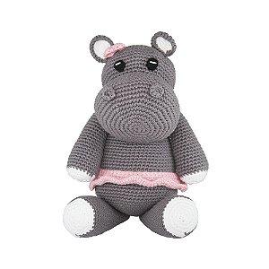 Amigurumi Hipopótamo Menina