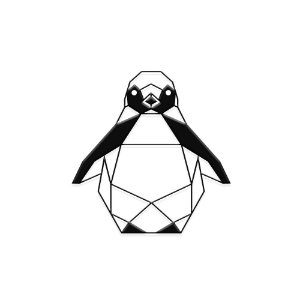 Decorativo Pinguim