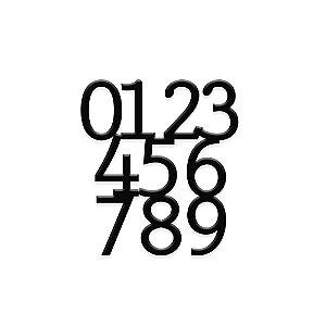 Decorativo Números
