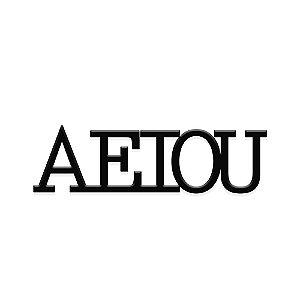 Decorativo A, E, I, O, U