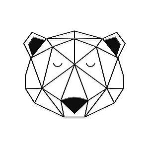 Decorativo Urso Geométrico