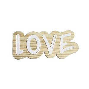 Lettering de parede Love