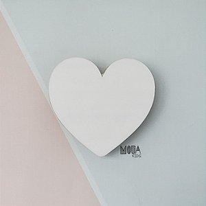 Cabideiro Coração Branco