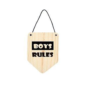 Flâmula Boys Rules