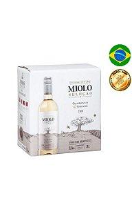 Miolo Seleção Chardonnay / Viognier Bag In Box  - 3 Litros