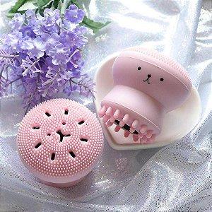 Esponja polvo para limpeza facial
