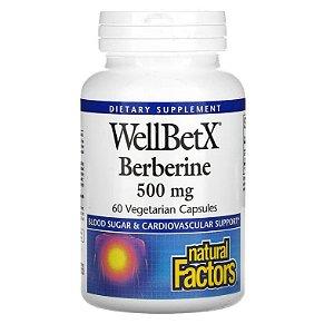 Berberine Natural Factors 500 mg 60 caps