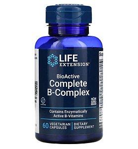 Vitamina Complexo B Life Extension Bioativo 60 caps