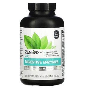 Enzimas Zenwise Prebióticos + Probióticos 180 caps