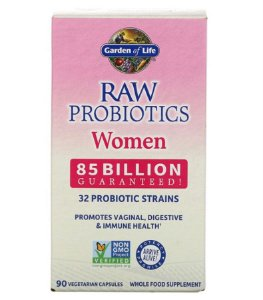 Probiótico Garden of Life RAW Probiotics Women 90 Caps