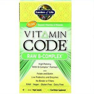 Vitamina Complexo B Garden of Life Code