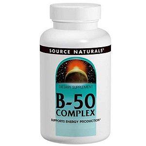 Vitamina Complexo B-50 Source Naturals