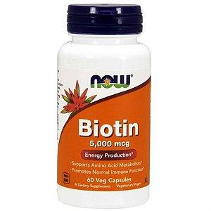 Biotina Now Foods Energy